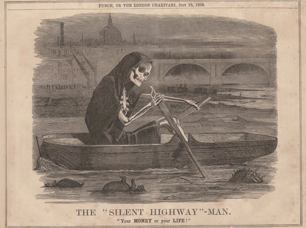 The Great Stink of London 1858
