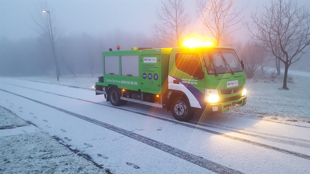 Five Tips to Protect your Jetter in Freezing Conditions
